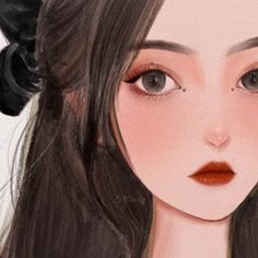 Anime Character Drawing, Cartoon Girl Drawing, Anime Girl Drawings, Anime Art Girl, Girl Cartoon, Cartoon Art, Cute Drawings, Character Art, Aesthetic Painting