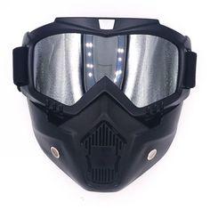 Heinmo Motorcycle Retro Helmet Motocross Half Open Face Helmet for Harley Cruiser Light Black