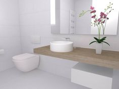 Bathroom renovation (final proposal) | Kifissia | PS architectural studio | project built 2014