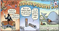Bizarro by Dan Piraro - July 13, 2014   Comics   Comics Kingdom - Comic Strips, Editorial Cartoons, Sunday Funnies, Jokes
