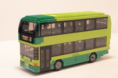 Lego Southern Vectis Bus Side   A Lego version of the colour…   Flickr