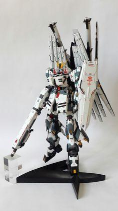 RX-93 Hi-Nu Gundam Ver.Ka + H.W.S + Psycho Frame Double Funnel System [FULL H.W.S. Hi-Nu Gundam]: Full Photoreview http://www.gunjap.net/site/?p=239745