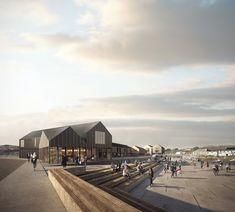 Fibre Cement Cladding, Public Realm, Devon And Cornwall, Good Presentation, Architecture Visualization, World Heritage Sites, Plymouth, Pavilion, The Locals