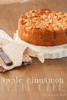 The Sweetest Taste. Bizcocho de manzana