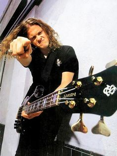 Jason Newsted it's you that stole my bike???