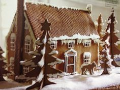 Very detailed ginger bread house