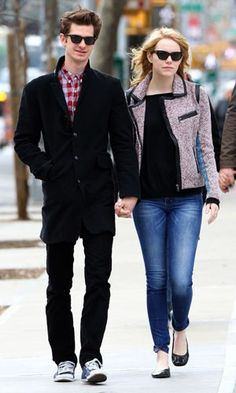 Andrew Garfield and Emma Stone, perfect babies <3