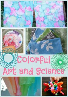 Colorful Art and Science projects