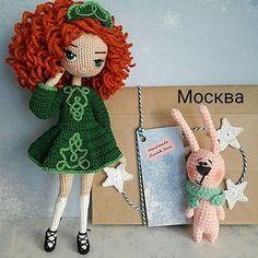 Irresistible Crochet a Doll Ideas. Radiant Crochet a Doll Ideas. Crochet Doll Pattern, Crochet Patterns Amigurumi, Amigurumi Doll, Crochet Fairy, Cute Crochet, Knitted Dolls, Crochet Dolls, Tilda Toy, Crochet Hook Set