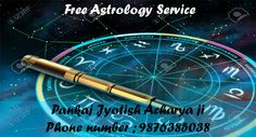 Free astrology service providing by pandit pankaj jyotish acharya you can ask anything about your future & get provide you high quality astrology services online.