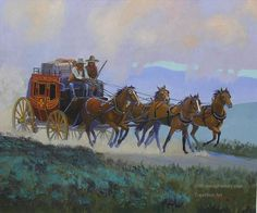 Horse Wagon, West Art, Home Of The Brave, Cowboy Art, Old West, Horse Racing, Cowboys, Westerns, Horses