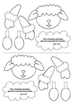 Hobbies Unlimited Portland Or Sheep Crafts, Felt Crafts, Felt Patterns, Craft Patterns, Felt Templates, Ramadan Crafts, Sheep And Lamb, Felt Quiet Books, Stuffed Animal Patterns