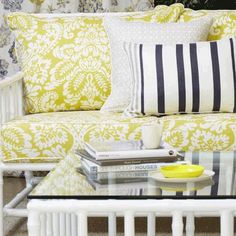 Five co-ordinating fabrics suitable for curtains, general domestic upholstery, cushions & lampshades. Decor, House, Fabric Collection, Fabric, Master Bedroom, Home Decor, Warwick Fabrics, Pillows, Upholstery