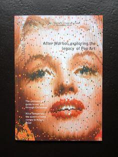 MARILYN MONROE COVER POP ART MONICA VINADER ALICE TEMPERLEY SLOANE SQ 12.2014 | eBay