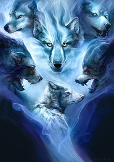 Fantasy Wolves on Pinterest | Wolves, Wolf Spirit and Werewolves