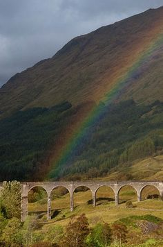 Glenfinnan Viaduct Bridget In Scottland - Click for More...