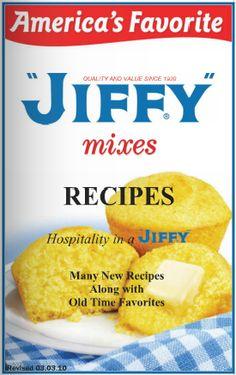 FREE $$ Jiffy Mixes Recipe Booklet!