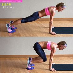 Pinner: I did this and lost 2 pants sizes in just 2 weeks!! 8 Exercises to Target Your Lower Abs | YouBeauty
