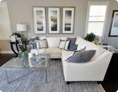 Woonkamer Inspiratie Blauw : Beste afbeeldingen van woonkamer kleuren living room living