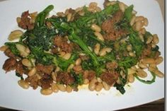 Broccoli Rabe, Sausage and Cannellini Beans recipe on Food52
