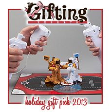 Boxing Robots ... http://thegiftingexperts.com/holiday-gift-guide-2013/
