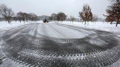 Snowfall on the Peninsula