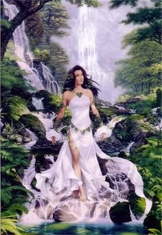 Kupulo  Slavic Goddess of Water, Sorcery and Herbal Lore