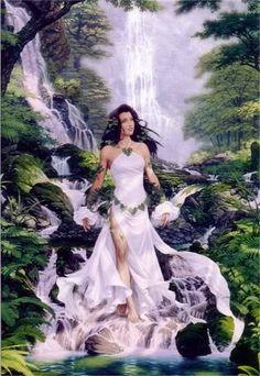Kupulo  Slavic Goddess of Water, Sorcery and Herbal Lore