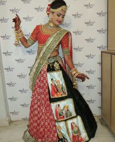 New look of wedding lengha Bridal Lehenga 2017, Bridal Lehenga Collection, Designer Bridal Lehenga, Indian Bridal Lehenga, Indian Bridal Fashion, Indian Bridal Wear, Indian Wedding Outfits, Bridal Outfits, Dress Collection