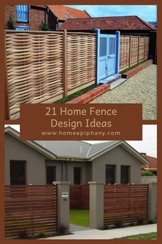 43 Best Fence And Gate Design Images Gardens Fence Ideas Fence