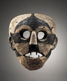 Africa   Mask from the Boa people of the Democratic Republic of Congo   Wood and pigment   ca. 19th century