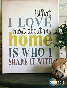 Home is where our story begins! What is the best thing you #love about your home? #SweetHome www.sunindiadevelopers.com
