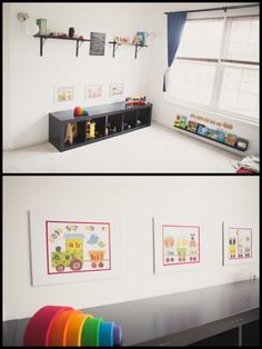 Book rail and/or cubby book/toy shelf | greylikesbaby