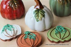 It's October and it's pumpkin season! | Royal Icing Diaries