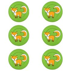 cute fox forest animal cartoon pack of small button covers cute and unique gift, you can personalize/customize it. #cute #animals #moles #honey #bee #animal #lovers #flower #buzzy #bee #cute #bees #adorable #bumble #bee #garden #gardener #...