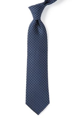 SQUARE APART TIES - NAVY | Ties, Bow Ties, and Pocket Squares | The Tie Bar