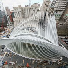 Santiago Calatrava, World Trade Center Oculus, New York