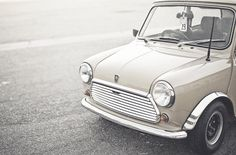 Morris Mini. I absolutely love these cars