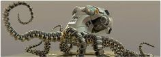 Image result for mech octopus