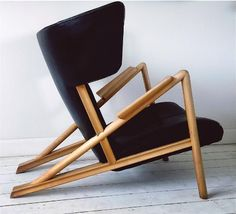 Finn Juhl; 'Grasshopper' Chair by Niels Vodder, 1938.