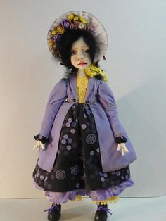 Souvenir interior doll Jane Art doll Collection doll in a