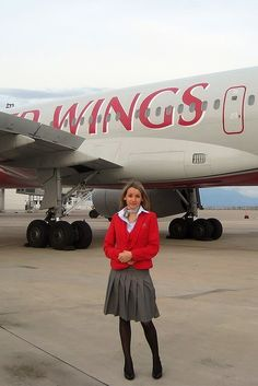 Red Wings is an airline based in Moscow , Russia . The airline provides both scheduled passenger and cargo charter services. Air Hostess Uniform, Don Delillo, Airline Cabin Crew, Intelligent Women, Flight Deck, Central Asia, Flight Attendant, World Best Photos, Hot Girls