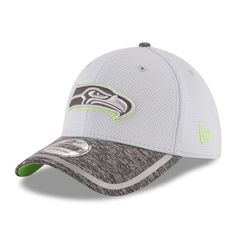 quality design 048f3 788ce Seattle Seahawks New Era Training Camp 39THIRTY Flex Hat - Gray Heather Gray