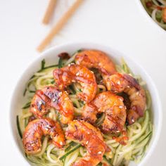 Cucumber Noodle Bowls
