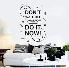 -Our wall decals are made of one of the best in industry vinyls - Oracal 651, which is perfect for INDOOR/OUTDOOR use and will last at least up to 5 years, this type of quality you won`t find in other shops.-Our handling time is only 24 hours or less, so you will get your decal in really short time.-We make our decals