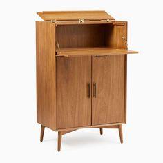 60s Furniture, Small Furniture, Living Furniture, Home Decor Furniture, Bathroom Furniture, Pallet Furniture, Furniture Design, Tall Bar Cabinet, Bar Storage Cabinet