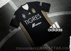 Tercer Jersey adidas de Tigres UANL 2017