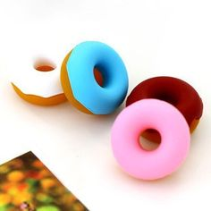 donut style earphone cable winder.