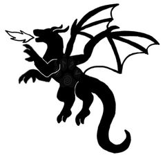 About Dragon Tattoos And Their Meanings. One of the most common designs on the market and most intriguing tattoos out there today is the dragon tattoo. Silhouette Dragon, Silhouette Tattoos, Disney Stencils, Dragon Tattoo Designs, Dragon Tattoos, Paper Cutting Patterns, Knight Party, Pyrography Patterns, Scroll Saw Patterns