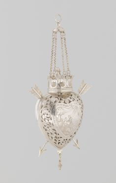 "aleyma: ""Bride's heart, made in the Netherlands, 1625-74 (source). """